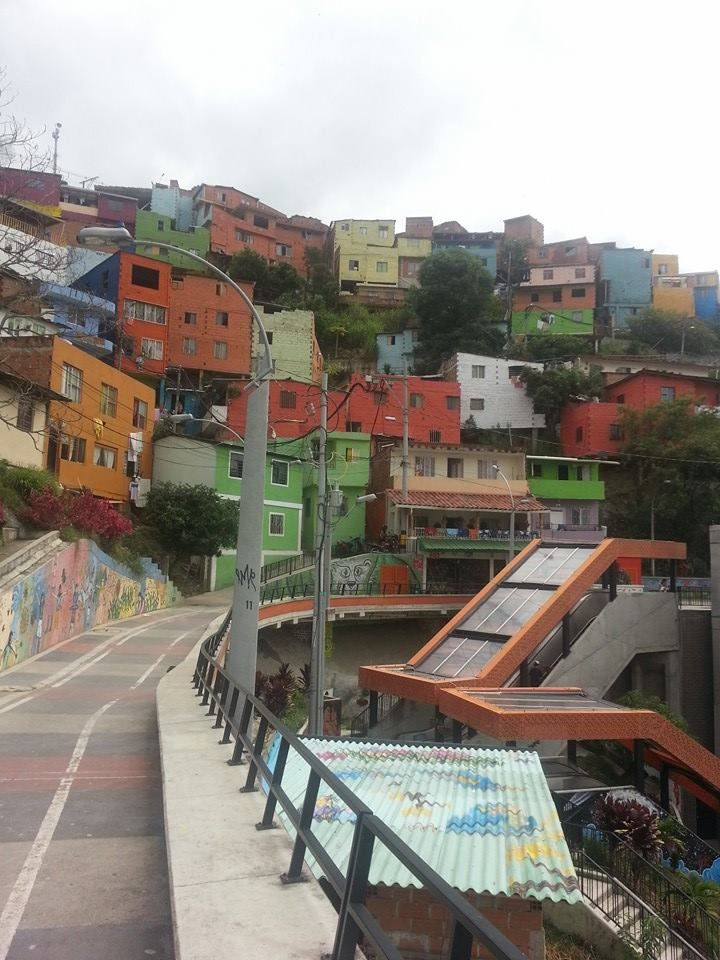 Comuna 13 walking tour in Medellin, Colombia