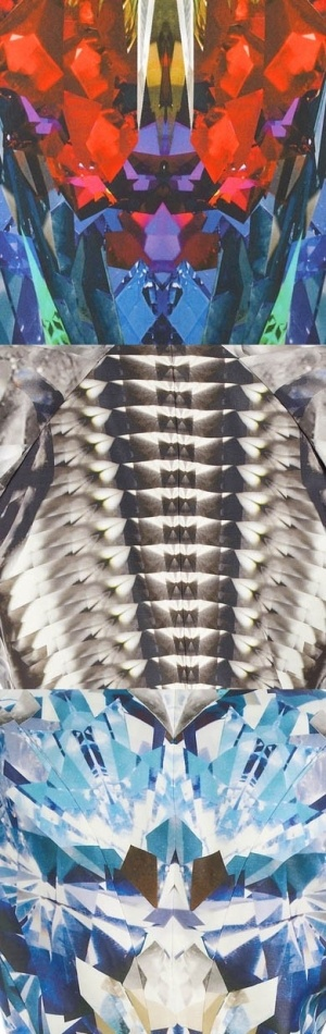 49 best aquatic animal designs images on pinterest fish pisces alexander mcqueen textile design fandeluxe Images