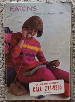 Eaton Canada's Spring and Summer 1968 Mailorder Catalogue. by Eaton Co.Ltd.: T. Eaton Co., Canada Glossy Cover, PBO - Paperback Original (True 1st). - Comic World