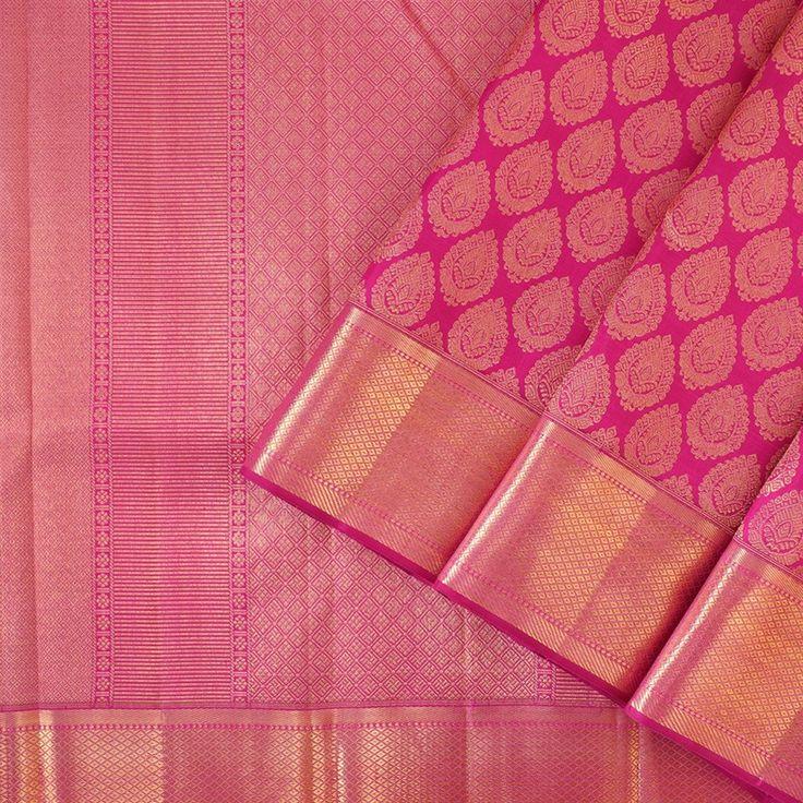 Kanakavalli Kanjivaram Silk Sari 050-01-27756 - Cover View