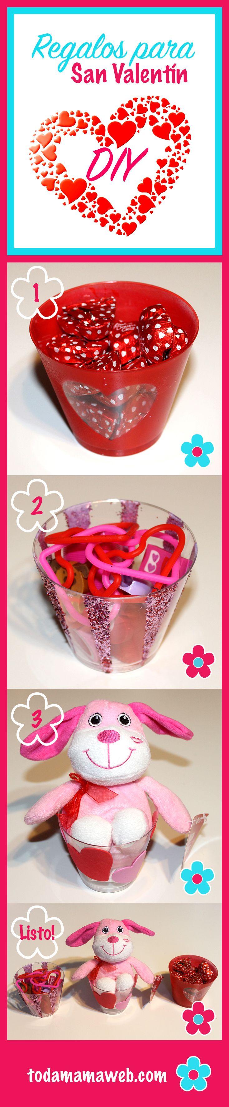 3 envases para meter los regalos de San Valentín. Para el Tutorial en vídeo hacer click! / 3 easy ways to give your Velentine's gifts. Click for Video DIY
