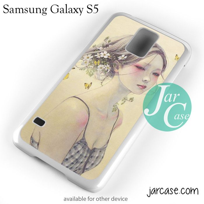 Beautiful asian girl YP Phone case for samsung galaxy S3/S4/S5