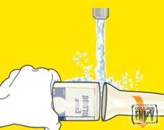 In nur 2 Minuten können Sie aus jeder Flasche ein Glas machen. Diese 5 Schritte sind …   – DIY