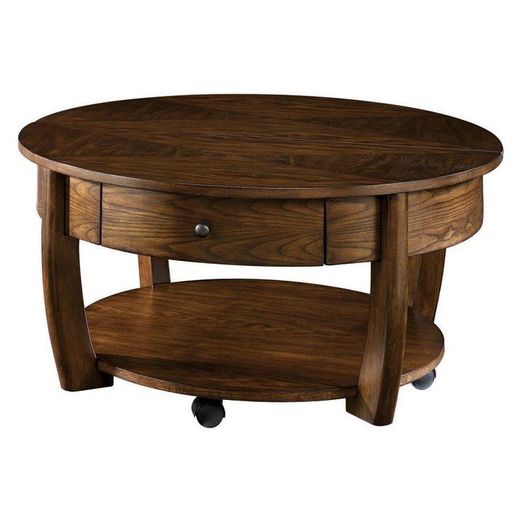 Hammary Concierge Round Coffee Table   $420 @hayneedle