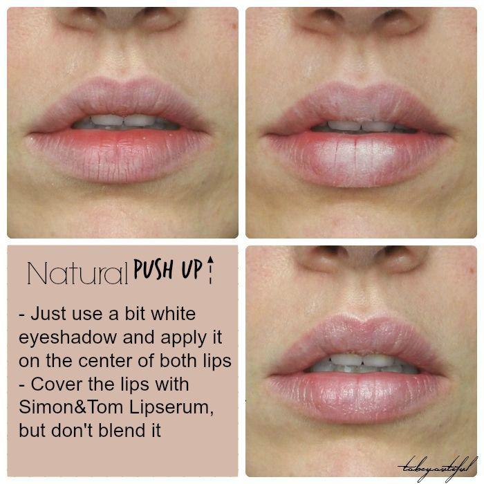 Bigger lips trick