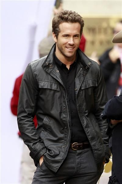he is just adorable....For more pictures of Hollywood's most eligible bachelors, check out our gallery: on-msn.com/yveWQgThis Man, Hotties, But, Ryan Reynolds, Boys, Eye Candies, Beautiful People, Guys, Celebrities Hot Dude
