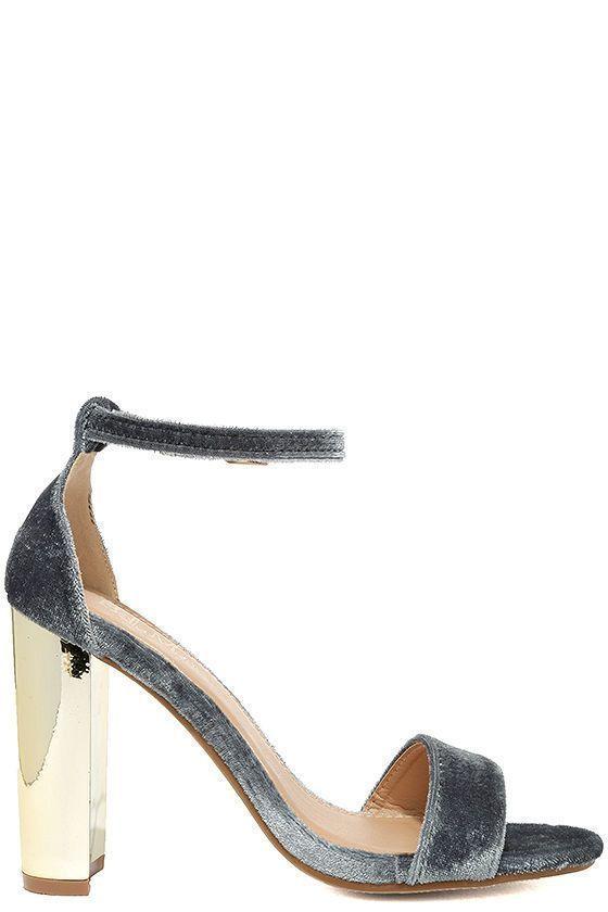 Best 25  Gold strap heels ideas on Pinterest | Gold heels, Steve ...
