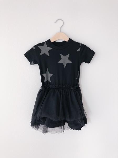 7610961937 Star Tulle Dress Nununu Locale: Israel Color: Black Description: Super soft  stars bodysuit Material: 100% cotton Washing Instructions: Machine wash  cold.