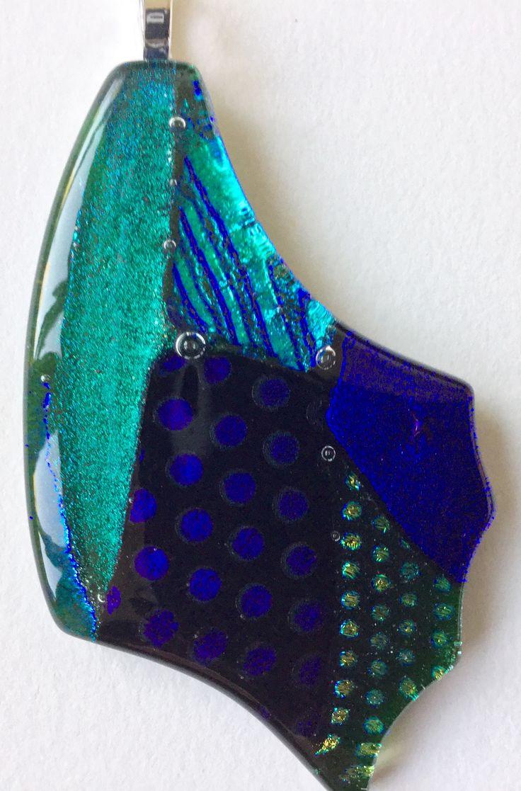 Emerald Forest You can Fly Butterfly Pendant Shards Glass Studio www.shardsglass.com https://www.facebook.com/ShardsGlassStudio?fref=ts