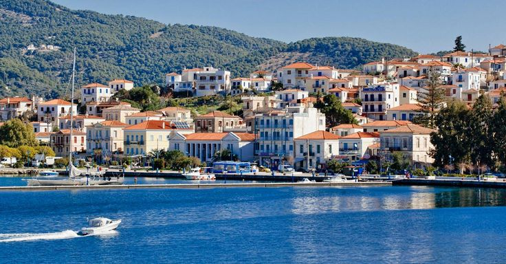 Poros Island  of peace, romance and jauntiness