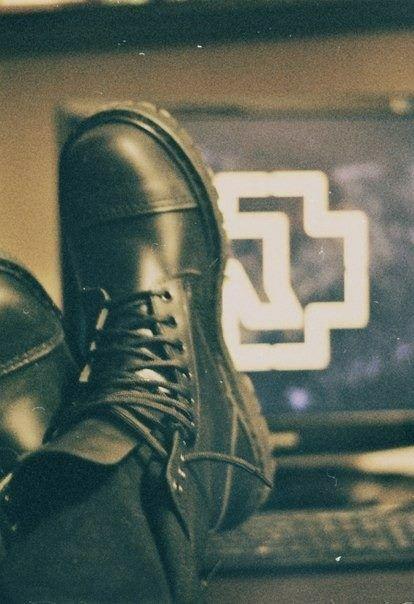 Richard Kruspe boots - Rammstein