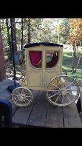Extremely Rare Retired American Girl Doll Carriage