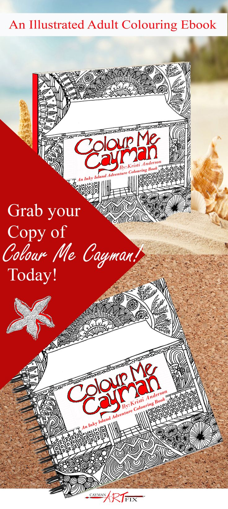 Our First Colouring Book is Live! Take a peek!
