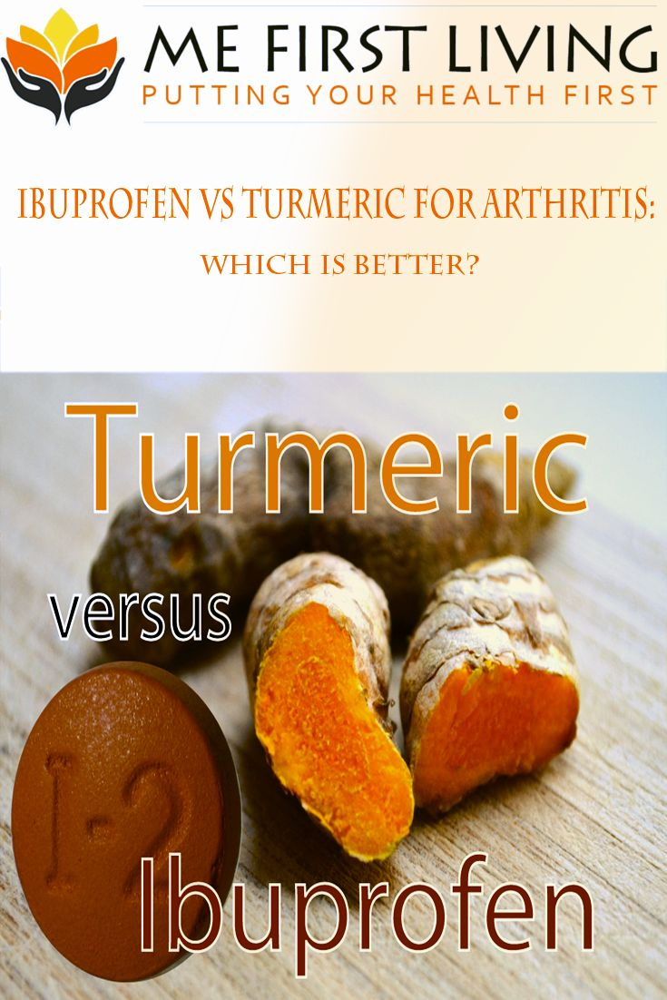 Did you know Turmeric can reduce pain and inflammation like Ibuprofen but turmeric doesn't have all the negative side effects that Ibuprofen has!