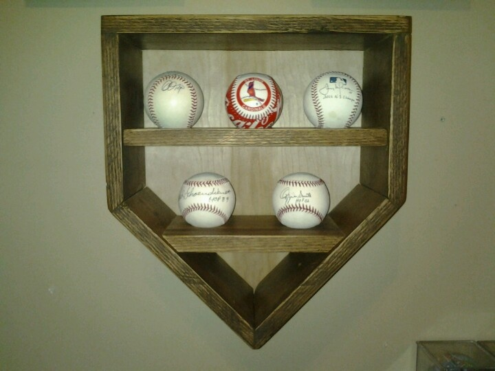 Baseball Display Case Handmade
