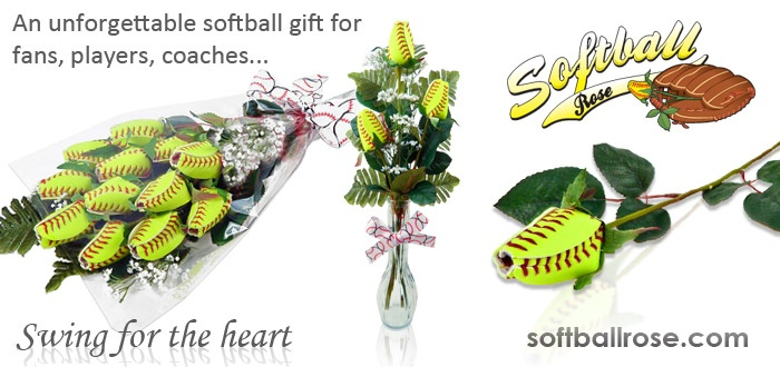 Sports Roses!  Cool video on how to make a softball rose.