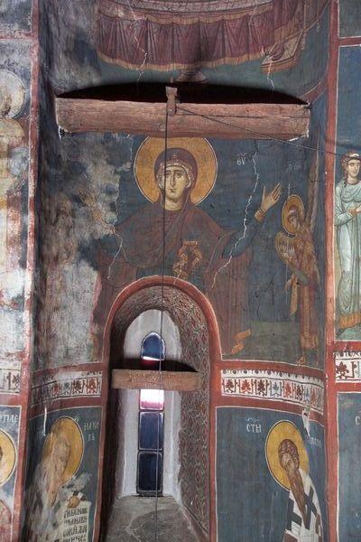 BLAGO | БЛАГО : Дечани : Богородица Оранта са два анђела