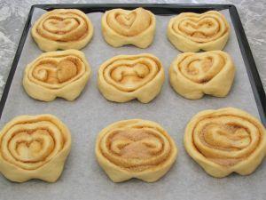 Домашние булочки с сахаром
