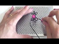 ► [TUTO ] Planche Wig Jig Modèle 14 Boucle Fil Alu et perle - YouTube