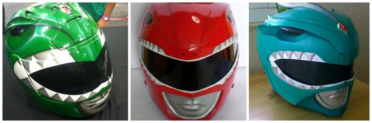 Power Rangers Motorcycle Helmets