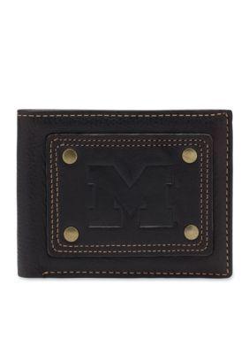 Jack Mason  Michigan Gridiron Bifold Wallet