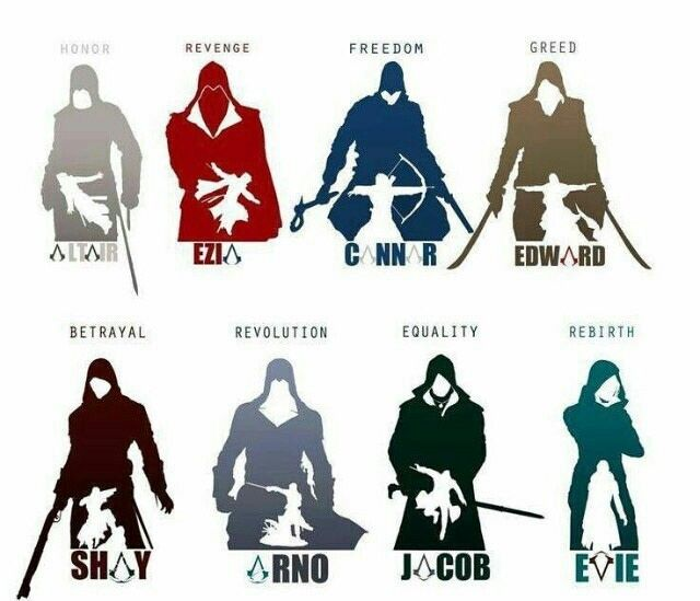 This is amazing! All Assassin's!