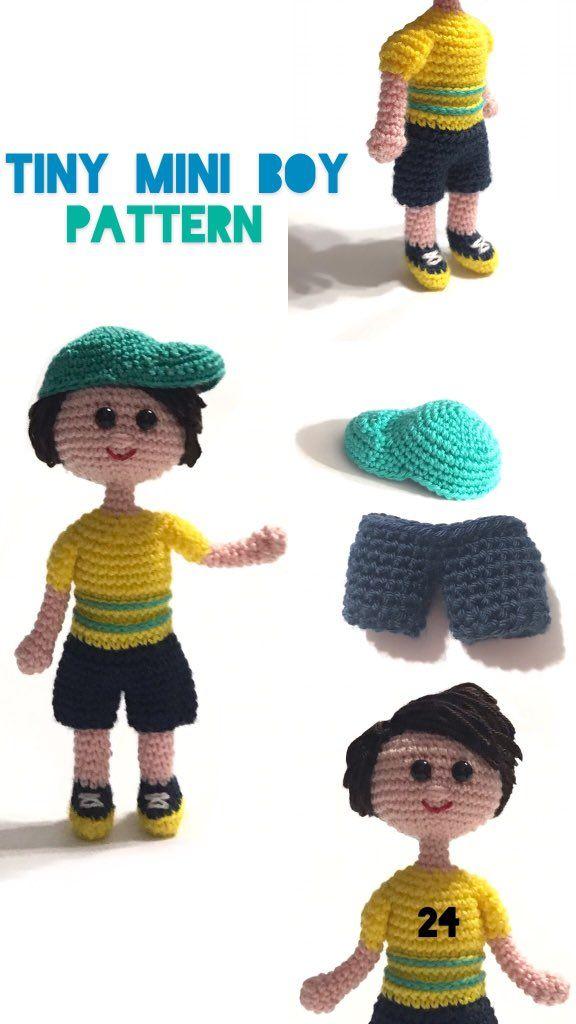 Free Crochet Doll Pattern- The Friendly Grace - thefriendlyredfox.com | 1024x576