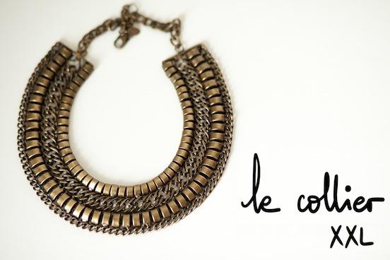 A Piece of Glam - Le collier XXL  #zara #necklace #jewelry  ©apieceofglam.com