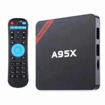 ซื้อเลย  Max 2GB RAM+16GB ROM A95X Smart Android 6.0 TV Box Amlogic S905XQuad core 64Bit 4Kx2K WiFi KODI Media Player Set Top Box  ราคาเพียง  2,098 บาท  เท่านั้น คุณสมบัติ มีดังนี้ High Quality Good Product Good Material