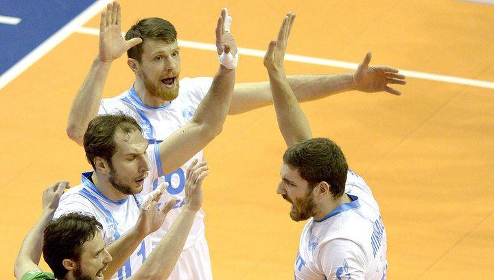 Волейболисты «Зенита» вышли в «Финал четырех» Лиги чемпионов | 24инфо.рф