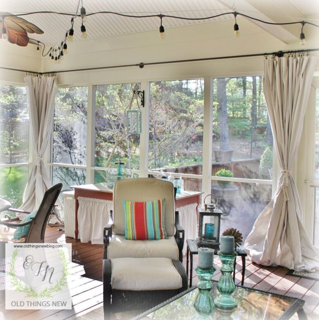 Best 25 Closed In Porch Ideas On Pinterest: Best 25+ Screened Porch Curtains Ideas On Pinterest
