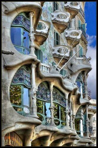 house Gaudi Barcelona