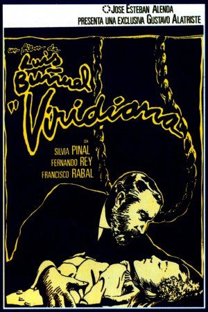 """Viridiana"" Spanish Movie poster Reposition (1977) by Iván Zulueta (Luis Buñuel 1961)"