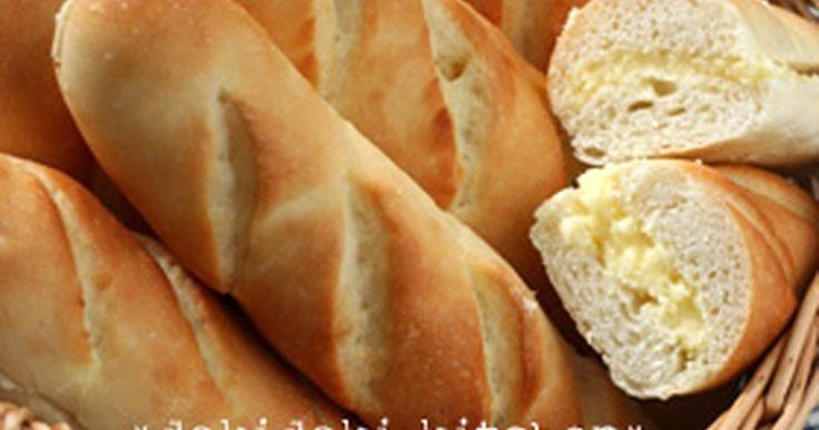 あま~いミルククリームをたっぷりはさんだ、食べやすいソフトなフランスパン♪みんな大好き♡