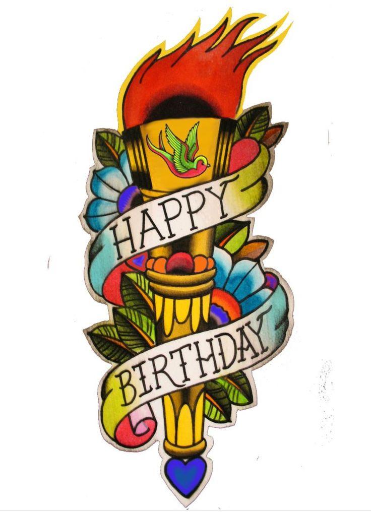 Днем, поздравления с днем рождения татуировщику картинки