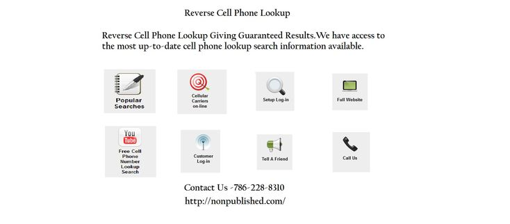 how to search cell phone number owner