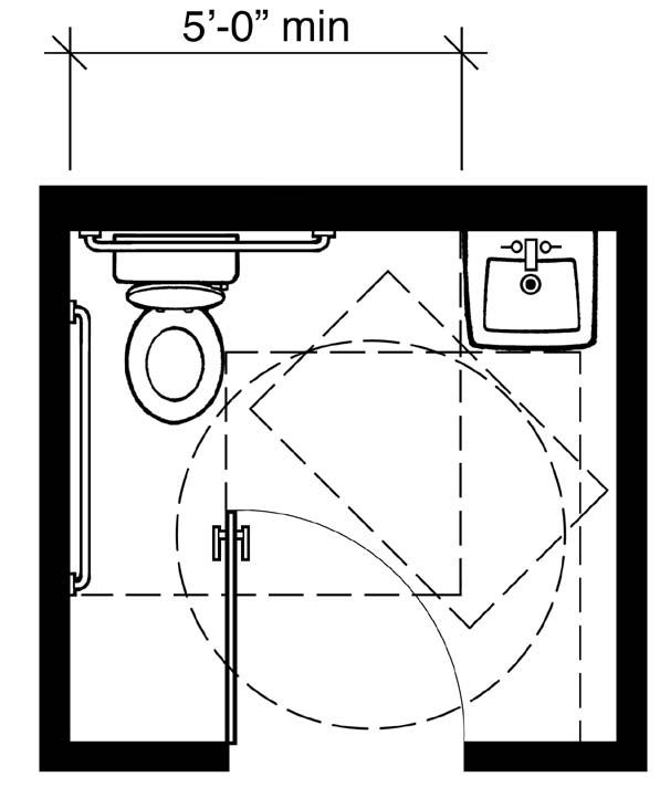 10 best images about hw 8 ada plans on pinterest small for Ada bathroom layout