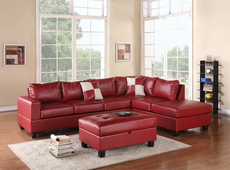 Red Sectional Sofa Decorating Ideas : red sectional sofas - Sectionals, Sofas & Couches