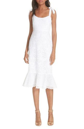 48ea23258e4c SALONI Rosie Eyelet Dress