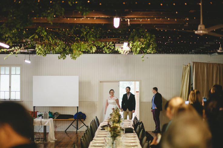Tom and Kirsty Samsonvale Wedding - Samsonvale Hall Wedding Ceremony - Elleni Toumpas Brisbane Queensland Wedding Photographer