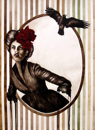 Watercolor on Paper - 60x80 - 2013- Angela Di Folco