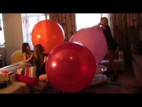 blow to pop big balloons