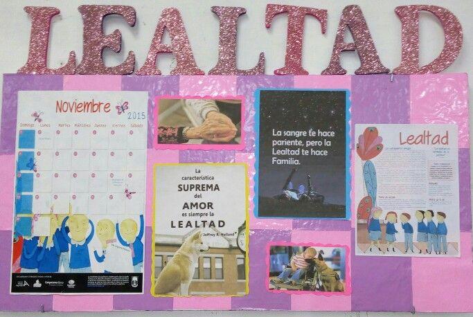 Periodico mural de los valores noviembre proyectos for El periodico mural
