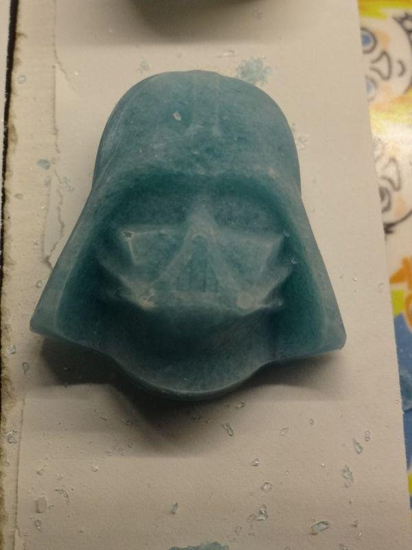 Freeze-and-fuse Darth Vader av Anni på Vardagsnjutning