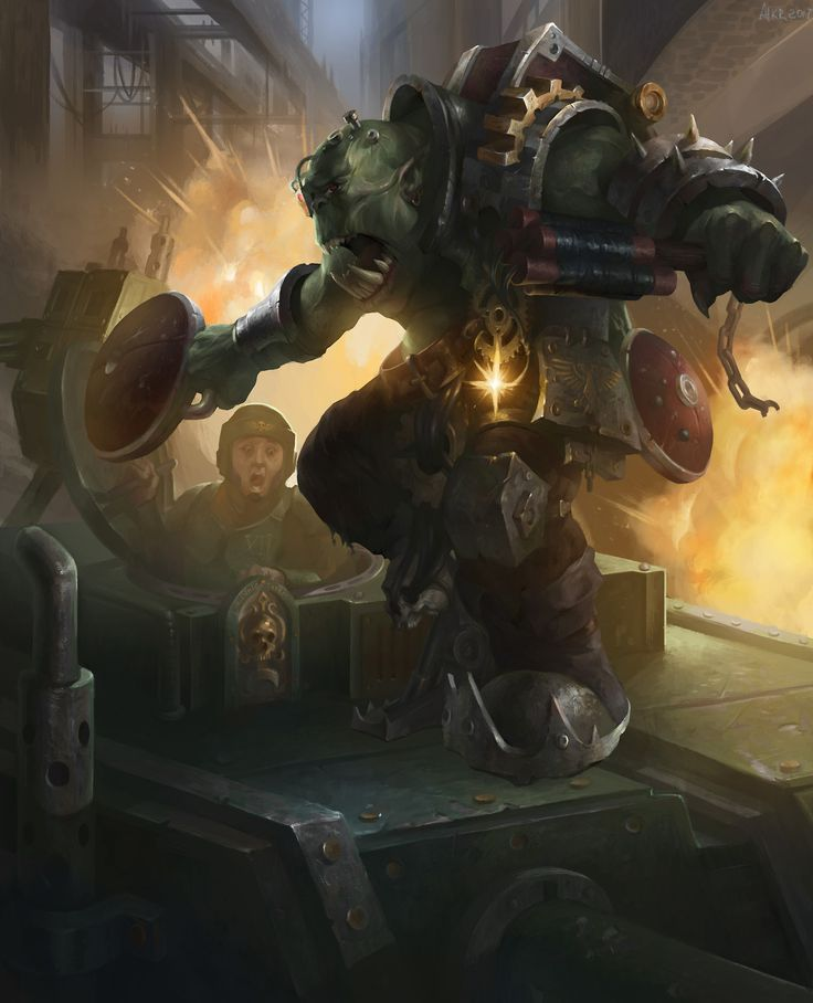 Resultado de imagen de tank busters ork art