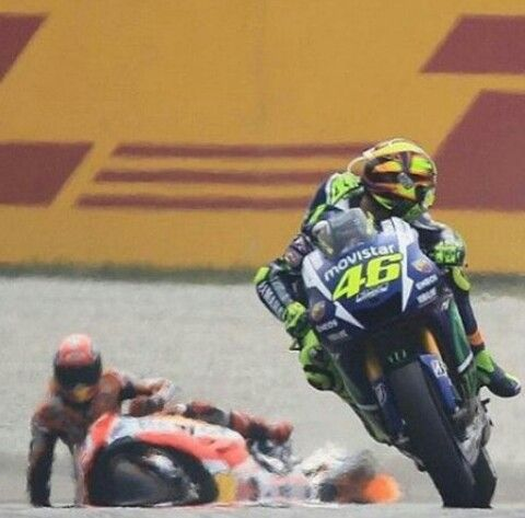 Valentino Rossi #46 SepangGP, it wasn't his fault!