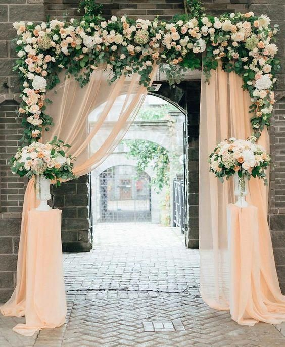 25 Peach Wedding Ideas Wedding Reception Summer Wedding