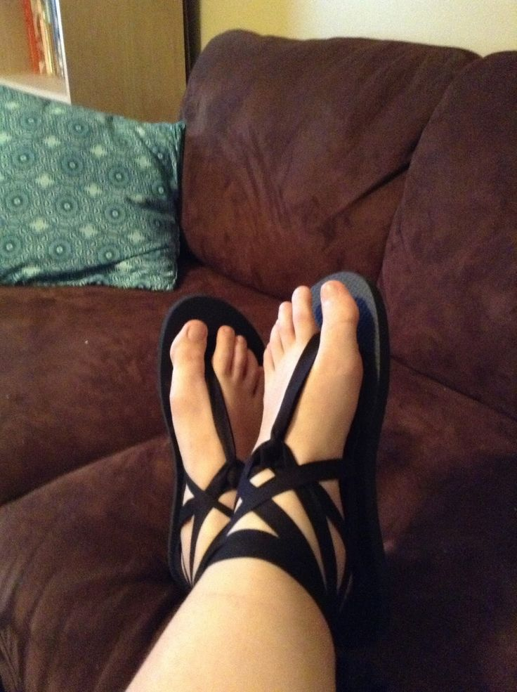 No Other Refuge: DIY Sandals (Made from Cheap Flip Flops)