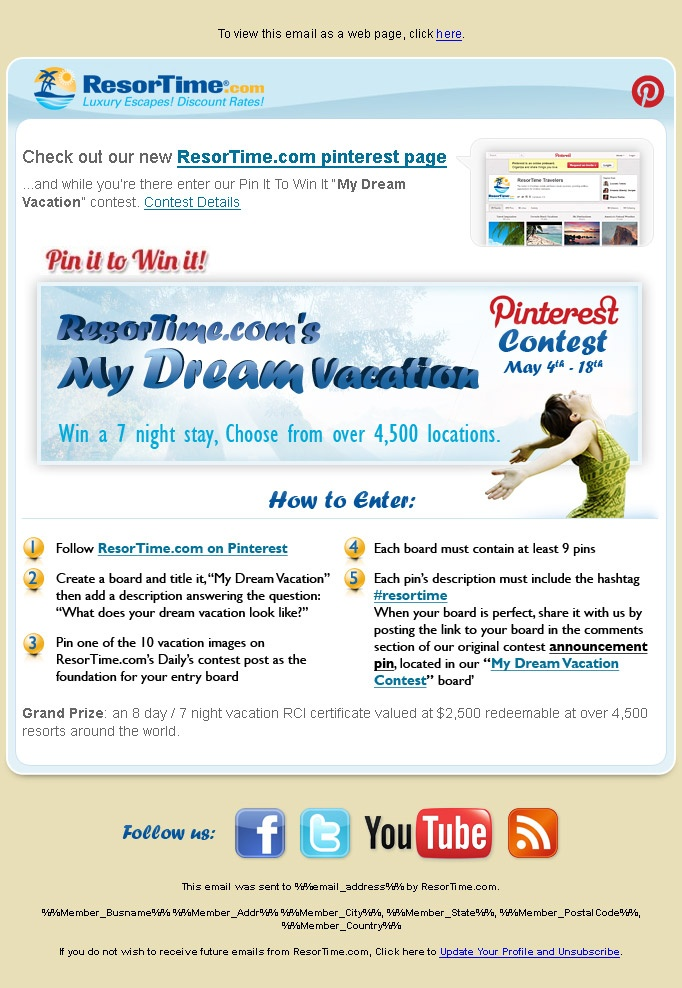 Our Pin-It-To-Win-It #Contest is live!!! Start creating your boards today! #Pinterest Contest