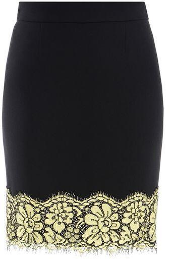Moschino Boutique Moschino Knee Length Skirt https://api.shopstyle.com/action/apiVisitRetailer?id=609538204&pid=uid8721-33958689-52